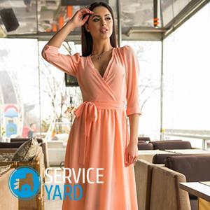 Как сшить платье без выкройки 🥝 материал для летних платьев