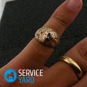 Как увеличить размер кольца в домашних условиях