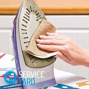 Как очистить утюг с керамическим покрытием от пригоревшей ткани?