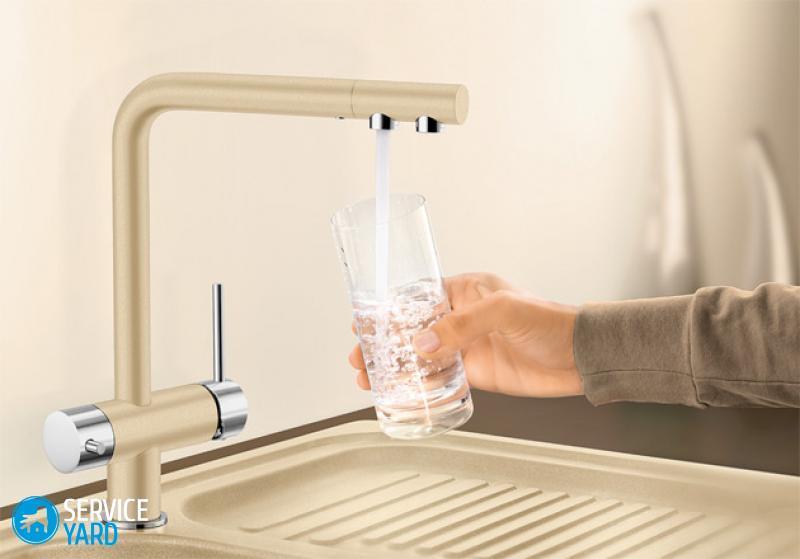 Как отремонтировать кран для фильтра питьевой воды?