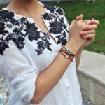 Декор одежды кружевом своими руками