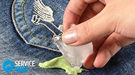 Как очистить пластилин с брюк, ServiceYard-уют вашего дома в Ваших руках