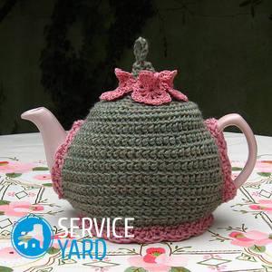Грелка на чайник своими руками — выкройки
