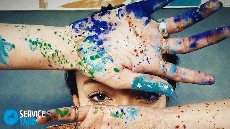 Чем отмыть краску от принтера с рук