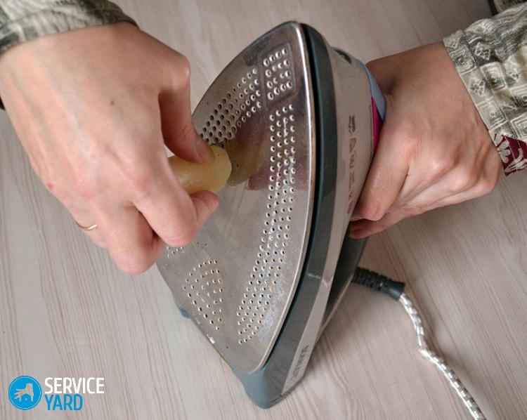 Чем почистить утюг с тефлоновым покрытием в домашних условиях?