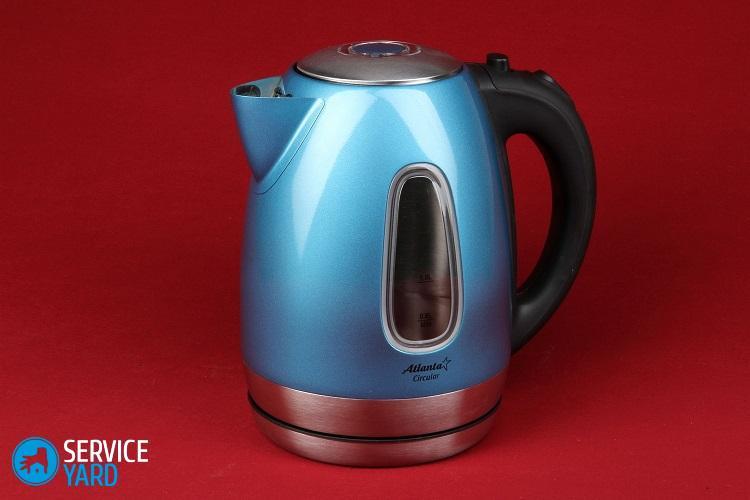 Чем заклеить чайник электрический?