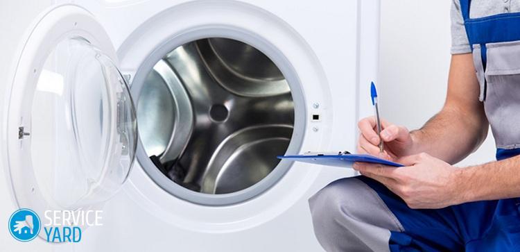 """Чистка стиральной машины """"Белизной"""""""