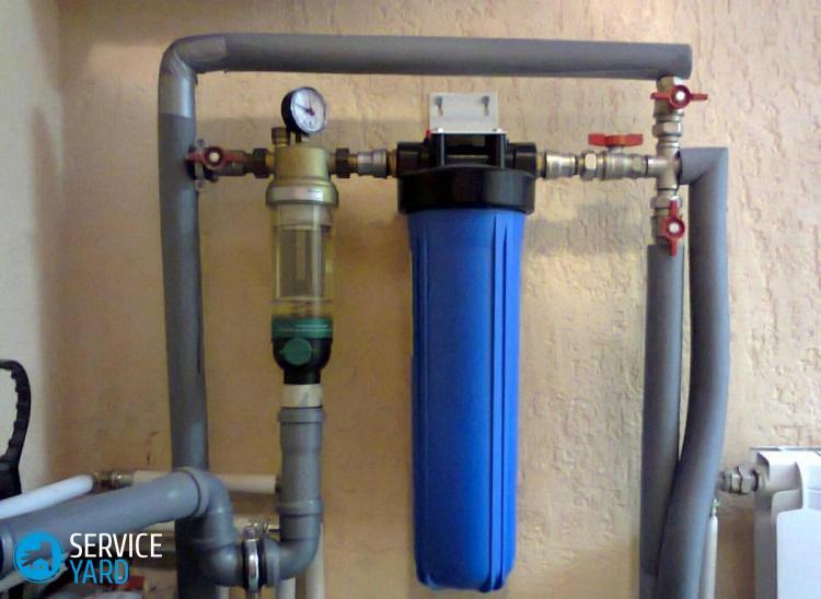 Фильтр для воды проточный магистральный - какой лучше?