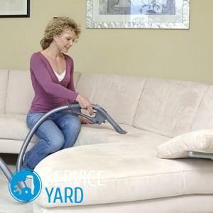 Как чистить флок на диване?