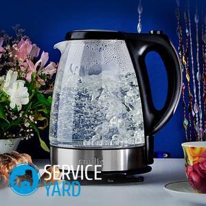 Какой чайник лучше — стеклянный или металлический?