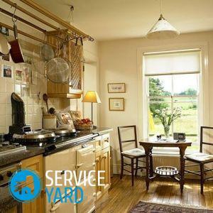 Дизайн кухни в деревенском доме своими руками