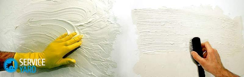 Фактурная краски своими руками