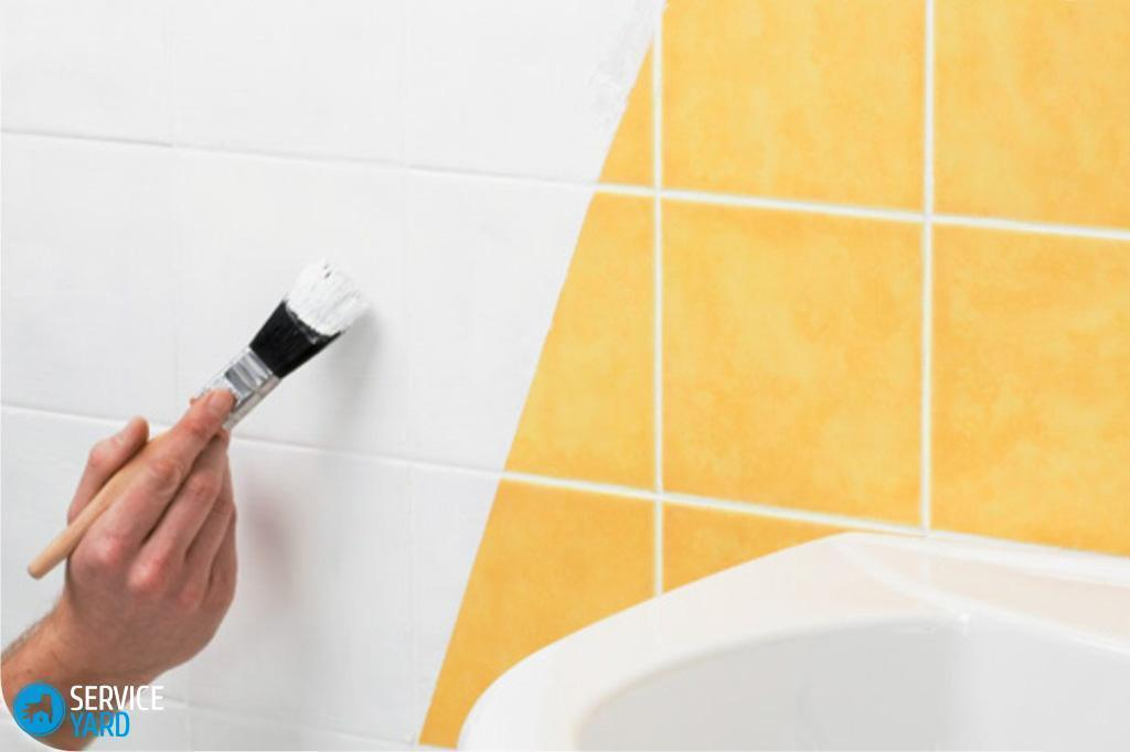 Как обновить кафельную плитку в ванной своими руками