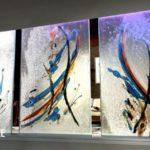 Декоративное стекло своими руками