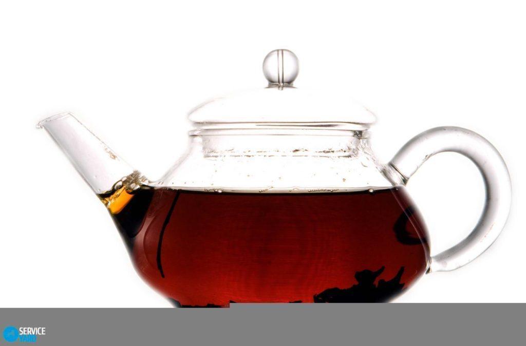 Как очистить заварочный чайник от чайного налета?
