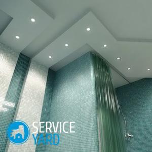 Чем покрасить потолок в ванной комнате?