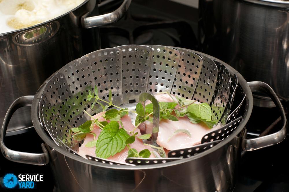 как приготовить котлеты на пару в сковороде