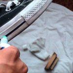 Как почистить белую подошву на кедах?