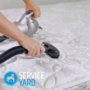 Как почистить матрас в домашних условиях от запаха и пятен?