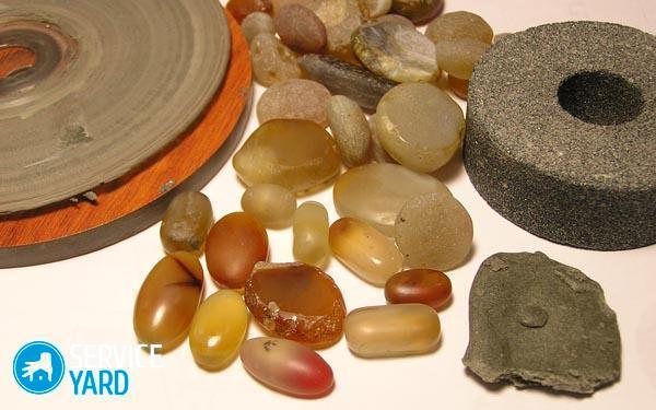 Как отшлифовать камни в домашних условиях