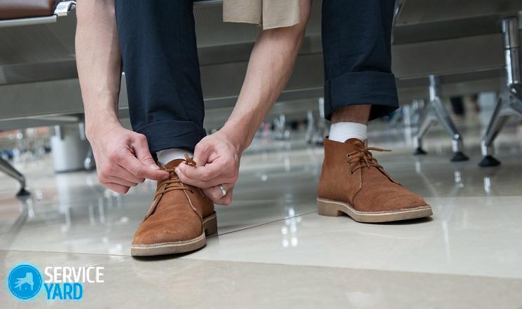 Как обновить замшевые сапоги в домашних условиях?