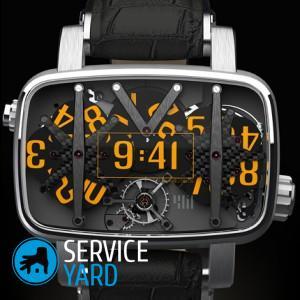 Как почистить часы?