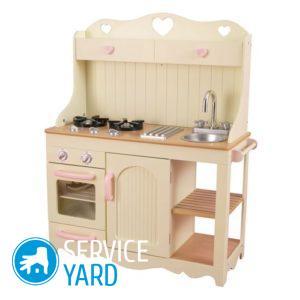 Детская кухня своими руками из фанеры - чертежи