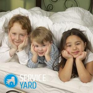 Какой матрас выбрать для ребенка 5 лет?