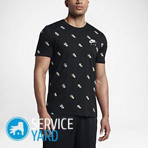 Как определить размер футболки мужской?