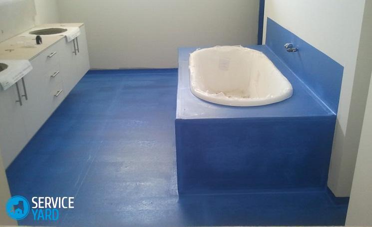 Гидроизоляция ванной комнаты под плитку - что лучше?