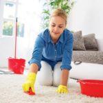 Как очистить палас от пластилина?