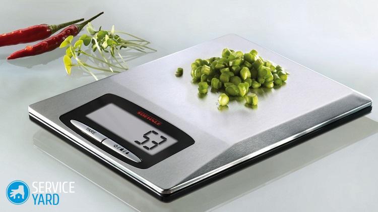 Как настроить электронные весы?