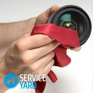 Как почистить объектив фотоаппарата в домашних условиях?