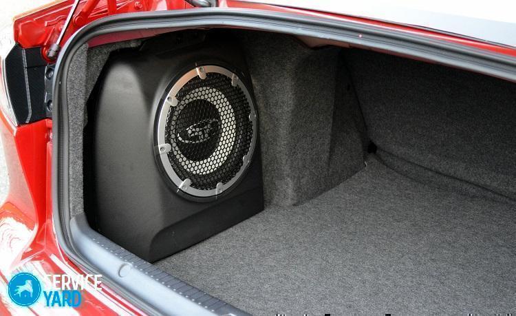 Как подключить активный сабвуфер в машине?