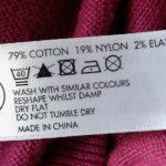 Знаки на одежде для стирки — расшифровка