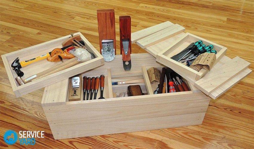Ящик для инструментов своими рукам
