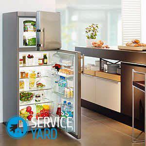 Встраиваемый холодильник — размеры шкафа