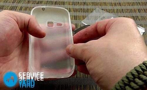 Как почистить силиконовый чехол для телефона?