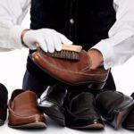 Как убрать соль с кожаной обуви?