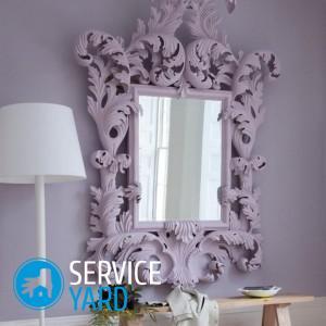 Как резать зеркало в домашних условиях?
