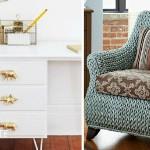 Как обновить старую мебель?