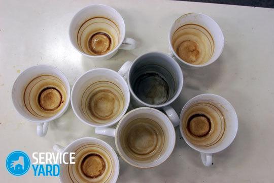 Как отмыть кружку от чайного налета, ServiceYard-уют вашего дома в Ваших руках