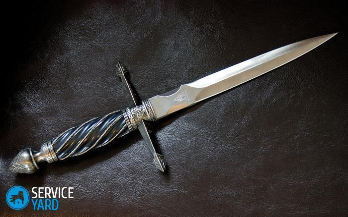Из чего лучше сделать нож?