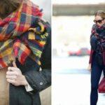 Как красиво завязать шарф на платье?