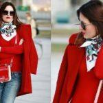 Как подобрать шарф к пальто по цвету?