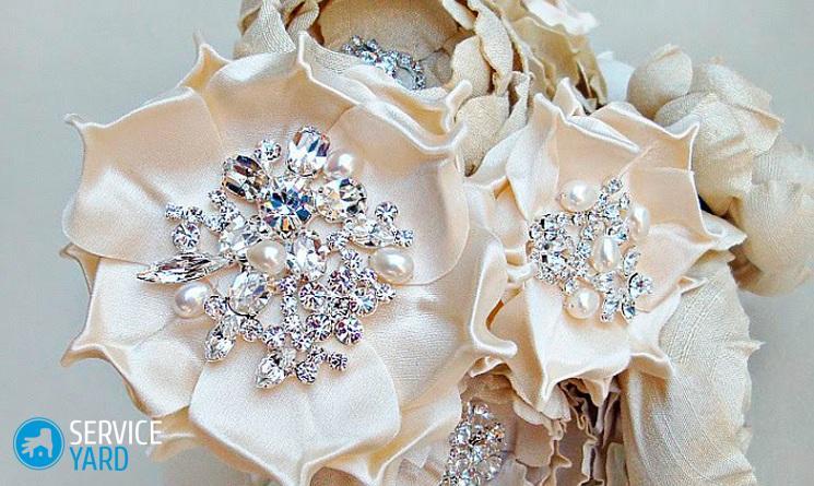 Как сделать цветы из шифона для платья 65