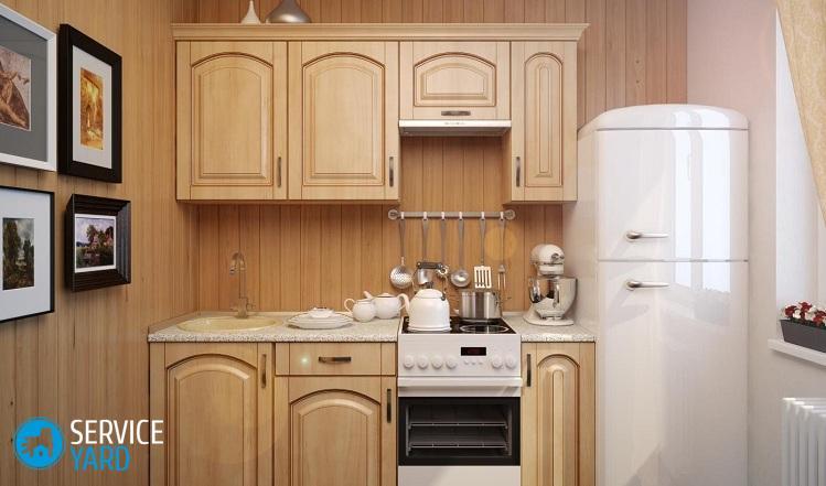Как расставить мебель в маленькой кухне?
