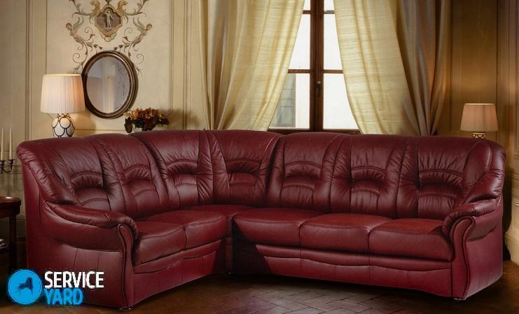 Кожаные диваны в домашних условиях 589