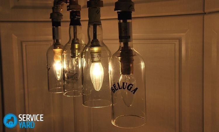 Как сделать настольный светильник в домашних условиях 485