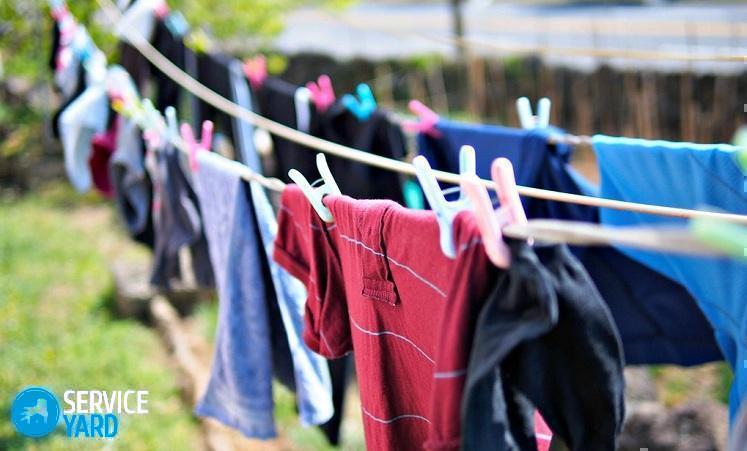 Как отстирать запах солярки с одежды?